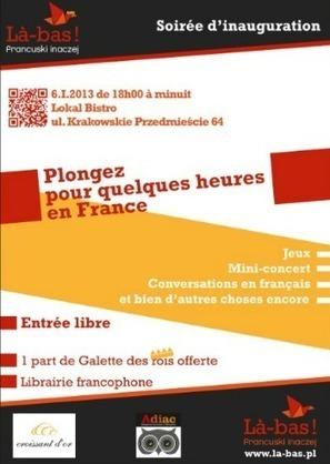Une plongée dans la culture francophone avec « Là-bas ! » / Institut ... | Le journal du FLE des PUG | FLE, TICE & éducation aux médias | Scoop.it