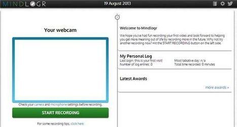 mindlogr – Crea un diario, con formato de vídeo, en Internet | MECIX | Scoop.it