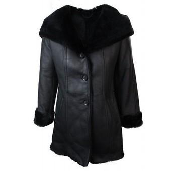 Ladies Women Sheepskin Toscana Winter Aviator Flying Style Jacket | Womens Clothing | Scoop.it