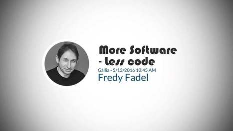 NewCrafts Videos - Fredy Fadel-More Software, Less code | Web tools and technologies | Scoop.it