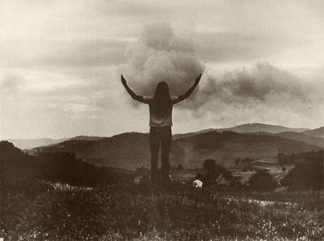 """Embracing Landscapes: """"Mimesis"""" (1972-1973) by Barbara and Michael... 