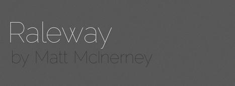 Raleway | Free Font | Graphic and Designer | Scoop.it