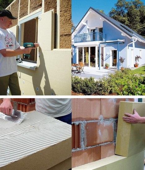 Isolation extérieure...! De la fibre de bois, tout naturellement. | Ageka les matériaux pour la construction bois. | Scoop.it
