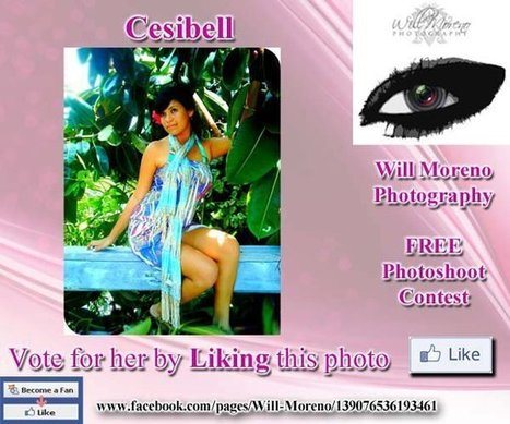 Cesibell - Contestant to win a FREE Photoshoot with Will Moreno | Belize in Photos and Videos | Scoop.it
