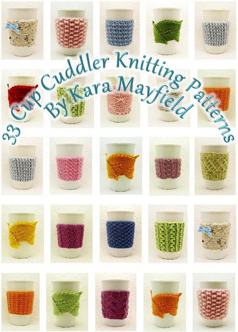 Ebook - 33 Cup Cuddler Knitting Patterns - PDF | All about hand making | Scoop.it