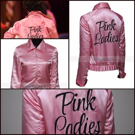 Grease Pink Ladies Jacket | Mens Celebrity Fashion Jackets, Coat and Suits | Scoop.it