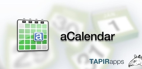 aCalendar - l'agenda Android - Applications Android sur Google Play | Android Apps | Scoop.it
