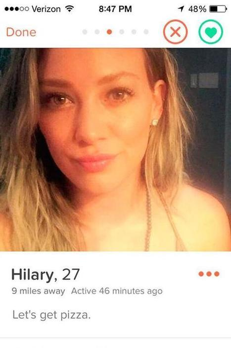 Hilary Duff joins Tinder and inadvertently offends everyone: 'I've never dated just a normie!' | Entertainment | Scoop.it