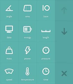 Flip - Le plus beau convertisseur d'unités de mesure gratuit sous Android | Geeks | Scoop.it