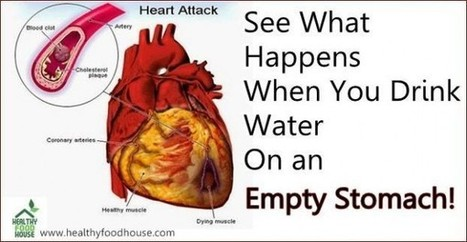 See What Happens When You Drink Water On an Empty Stomach | Water for your great health. | Scoop.it