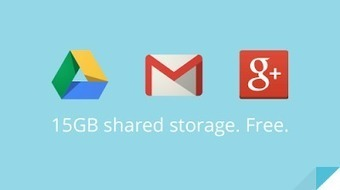 Official Gmail Blog: Bringing it all together: 15 GB now shared between Drive, Gmail, and Google+ Photos | Cloud Central | Scoop.it