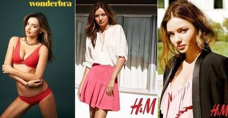Miranda Kerr, nueva imagen para Wonderbra y H&M   H&M   Scoop.it