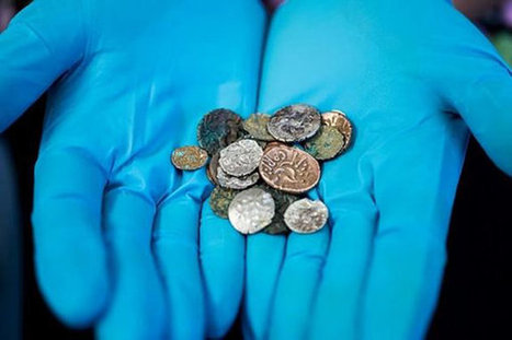 Ancient Coins Found Buried in British Cave | enjoy yourself | Scoop.it