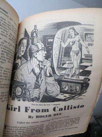 Sexy 1951 sci-fi pulp mag! | Sex History | Scoop.it
