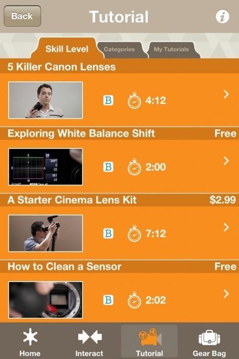 Worldwide first look @stillmotion's SMAPP app! Film School in an App   iFilmmaking   Scoop.it
