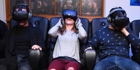 À Paris, la réalité virtuelle fait son cinéma | Digital Creativity & Transmedia | Scoop.it