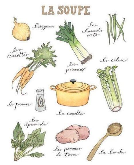 La soupe - ingredients | FLE enfants | Scoop.it