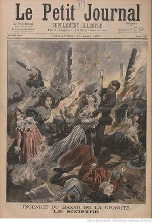 L'incendie du Bazar de la Charité | Théo, Zoé, Léo et les autres... | Scoop.it