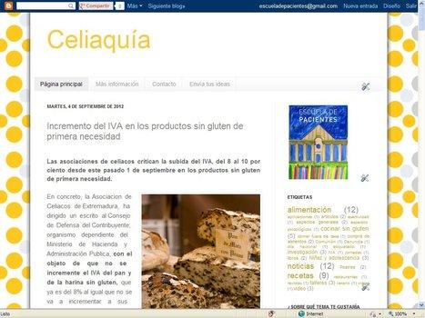 Blog de Celiaquía | Blogs Escuela de Pacientes | Scoop.it