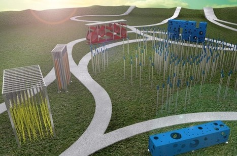 An abstract playground designed to fuel kids' creativity | D_sign | Scoop.it