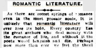05 Jul 1919 - ROMANTIC LITERATURE. | Romantics | Scoop.it