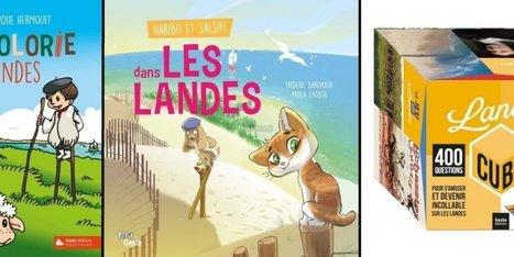 Les Landes à lire, à jouer et même à colorier | littérature jeunesse | Scoop.it