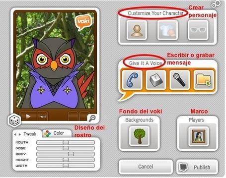 Crea avatares interactivos con Voki | Nuevas tecnologías aplicadas a la educación | Educa con TIC | Pedalogica | Scoop.it