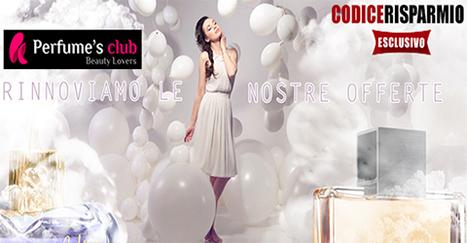 5% di sconto esclusivo con un ordine di 59€ da Perfume's Club | Offerte partner CodiceRisparmio.it | Scoop.it