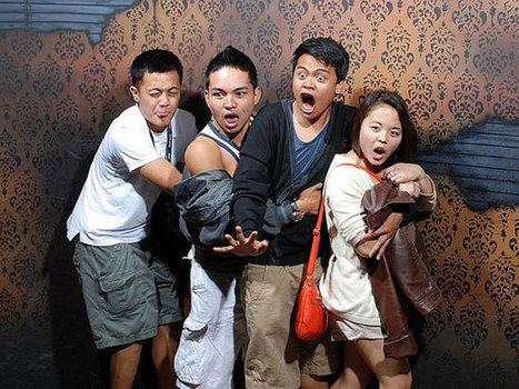 A Haunted House Takes A Flash Photo At The Exact Scariest Moment. These 30 Reactions Are Hysterical. | Get Your Geek On | Scoop.it