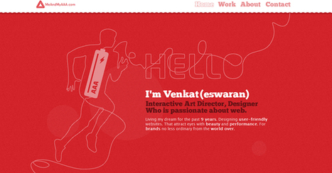 25 Awesome Red Based Website Designs   Web Design and Wordpress   Scoop.it