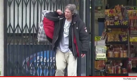 Homeless Man in YouTube $100 Challenge Dead -- Dies From Alcoholism | TMZ.com | Addiction | Scoop.it