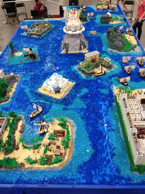 Most Of Homer's The Odyssey In One Giant Lego Build   Classics Today   Scoop.it
