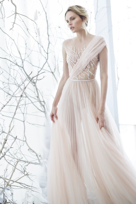 Step Into One Of these Dream Wedding Gowns from Mira Zwillinger - I Do Take Two | Wedding Inspiration | Scoop.it