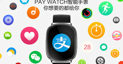 Alibaba partner unveils Pay Watch, a $110 smartwatch clearly inspired byApple | Wunderman Digital Trends Sharing | Scoop.it