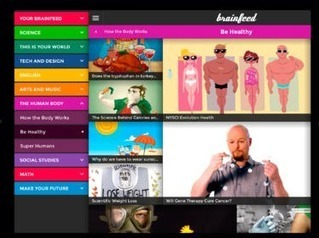 Brainfeed: Educational Videos for Kids | iPads, MakerEd and More  in Education | Scoop.it