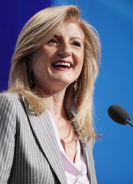 Arianna Huffington Discusses Her New Book Thrive With Barbara Walters | Working | Scoop.it
