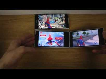 The Amazing Spider-Man 2 Sony Xperia Z2 vs. Sony Xperia Z1 vs. Sony Xperia Z - Gameplay Comparison | supreme moments | Scoop.it
