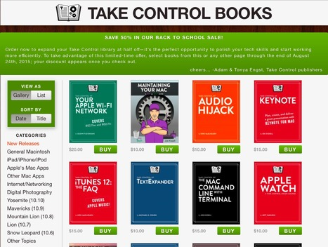 Expand your Take Control library by Adam and Tonya Engst | FileMaker off topic | Learning FileMaker | Scoop.it