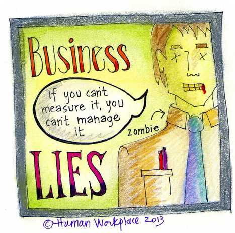 The Three Biggest Lies Told in Business | The Numbers | Scoop.it