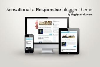 Sensational Responsive Elegant Blogger Template | Blog Addons | Scoop.it