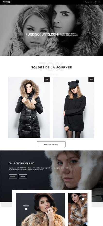 Un faux site e-commerce contre l'industrie de la fourrure | the world of communication | Scoop.it