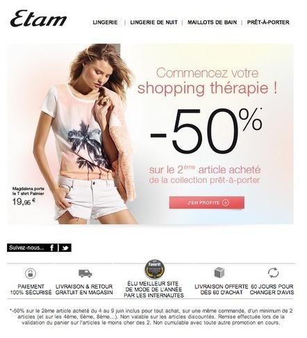 [PAROLE D'EXPERT] Les emails d'ETAM | Raffles Media | Email Marketing, Optimisation des conversions | Email Marketing | Scoop.it
