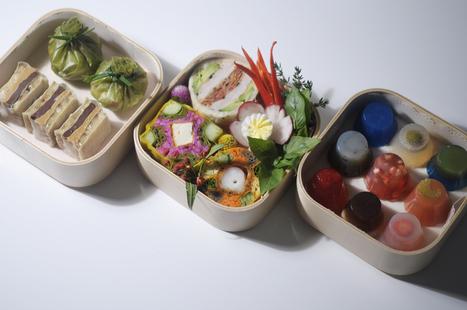 Menu complet en Bento Box   Luxirare   Bento Lunch Box   Scoop.it