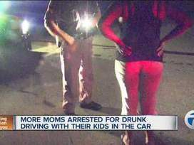 More mothers arrested for drunk driving with kids in car - WXYZ | Los Angeles Criminal Defense Attorney Information | Scoop.it