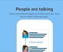 Nouveautés Twitter de la semaine : conversations, citations et Social TV | Réseaux marketing | Scoop.it