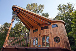 My Houzz: A Reclaimed Wood House Rises From the Trees | Sustainability | Scoop.it