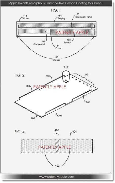 Apple Invents New Touch Pad Electrode Design & Diamond-Like Carbon ... - Patently Apple | interaction design | Scoop.it