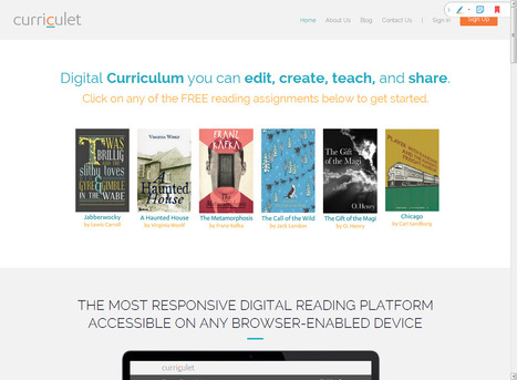 Curriculet | Technology to Teach | Scoop.it