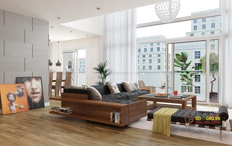 thiết kế nội thất chung cư Mandarin Garden | Thiết kế nội thất chung cư RoyalCity | Scoop.it