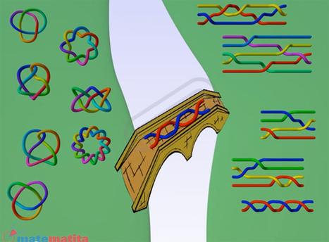 Tresses, bracelet en élastique, théorie mathématique | Veille CDI et profs docs | Scoop.it